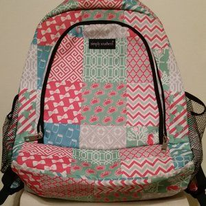 NWOT Simply Southern Backpack seahorse